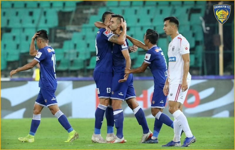 Chennaiyin went up to 6th place with a win over NorthEast United (Pic: ISL)