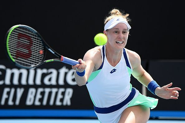 Alison Riske has rapidly risen the ranks in the past 12 months.