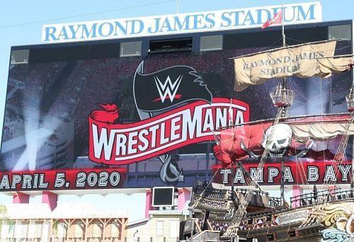 WrestleMania 36 takes place on April 6