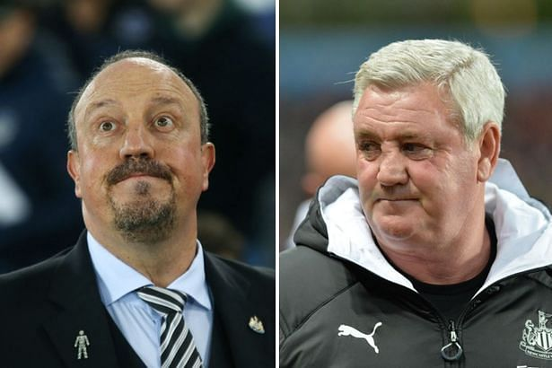 Steve Bruce knew from the get-go that he faced a tough task to replace Rafa Benitez.