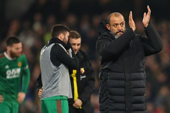 Nuno will be looking to knock out the Red Devils from the FA Cup for the second season in a row
