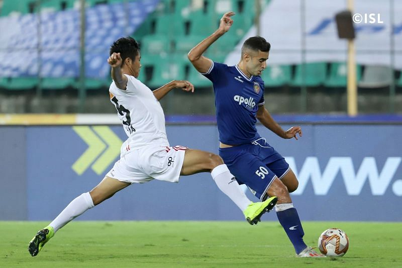 Rafael Crivellaro had an outstanding game for Chennaiyin (Pic: ISL)