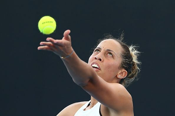 Madison Keys will take on home favourite Samantha Stosur in the second round.