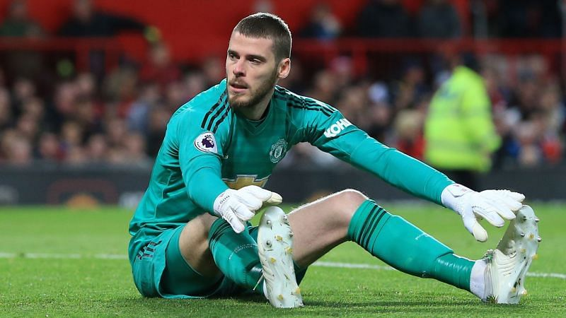 De Gea is currently far from his best
