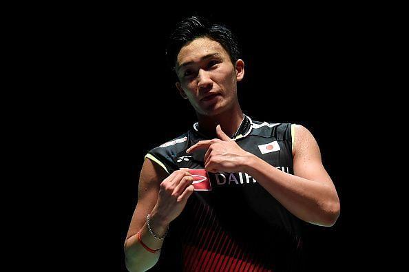 Kento Momota starts as the favourite.