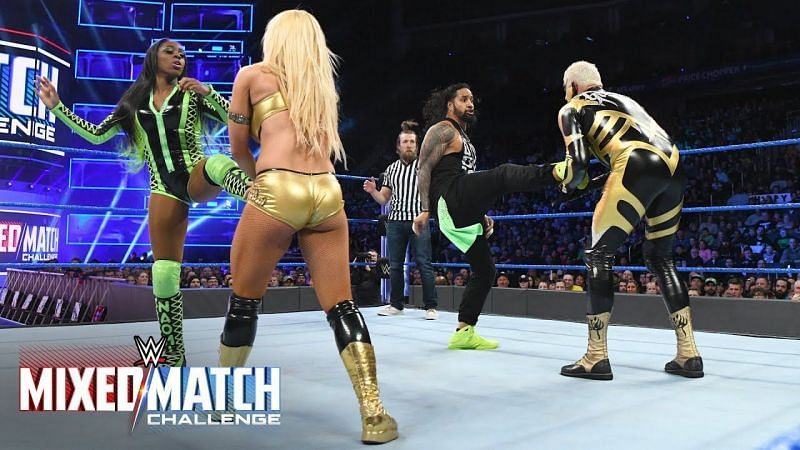 Naomi would love to see more intergender wrestling in WWE