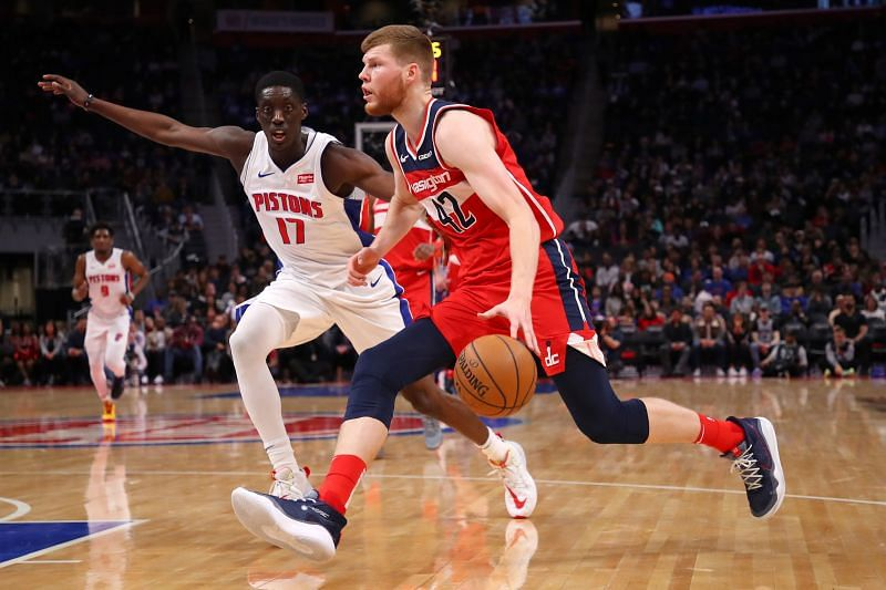 Davis Bertans of the Washington Wizards is among the players that have been linked with the Celtics