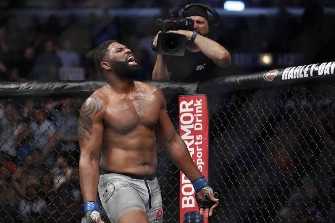 Curtis Blaydes could cement a title shot with a win this weekend