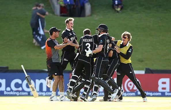 न्यूजीलैंड ने रोमांचक मुकाबले में श्रीलंका को हराया