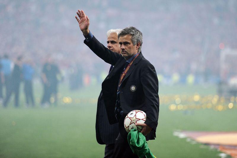 Mourinho guided Internazionale to a memorable treble in 2009/10
