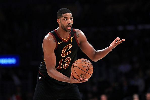 Tristan Thompson would have to be bought out by the Cleveland Cavaliers if the Celtics are to land a center