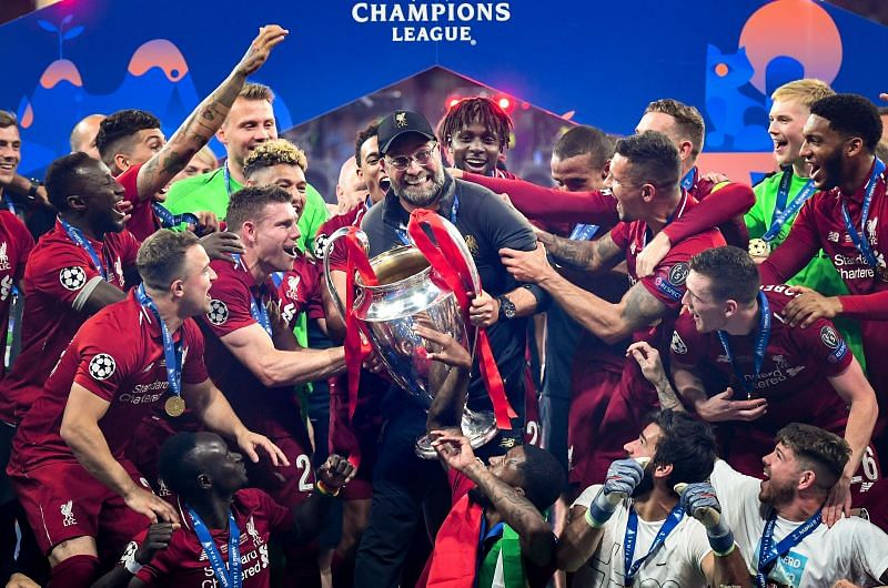 The Reds won their first Champions League trophi in 14 years in May