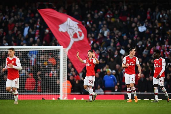 Arsenal shared points with Sheffield United at the end of the 90 minutes