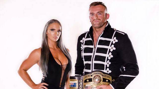 Nick Aldis is an old school NWA Champ