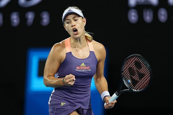 Angelique Kerber looked to be in good shape in her opening match.