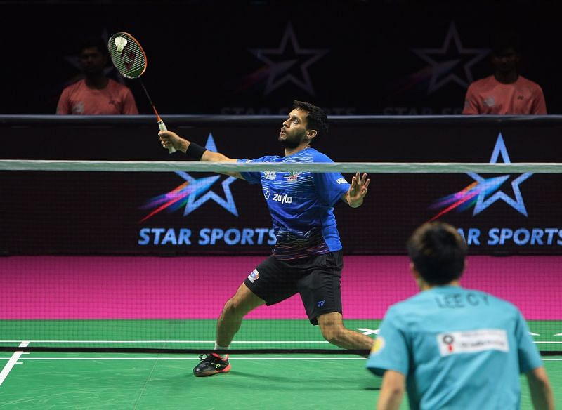 Parupalli Kashyap in action