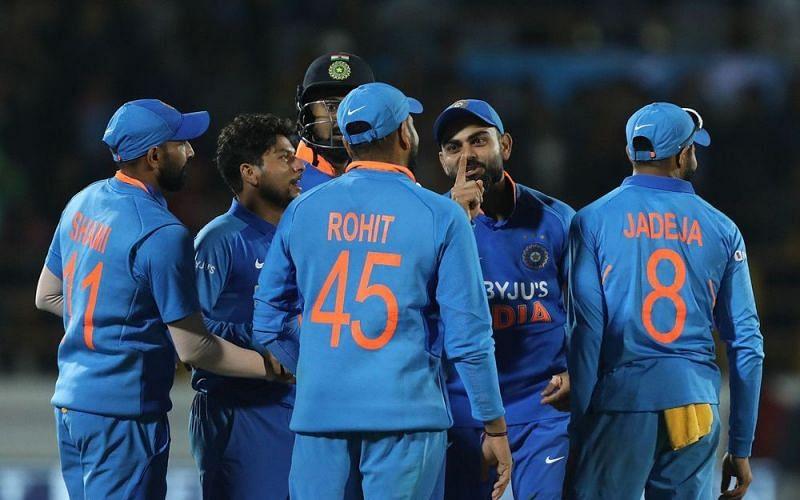 भारतीय टीम ने राजकोट वनडे में जीत हासिल की