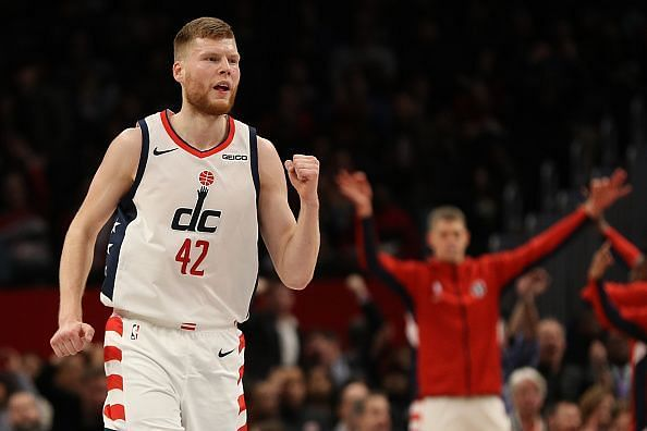 Davis Bertans has enjoyed an excellent season with the Washington Wizards