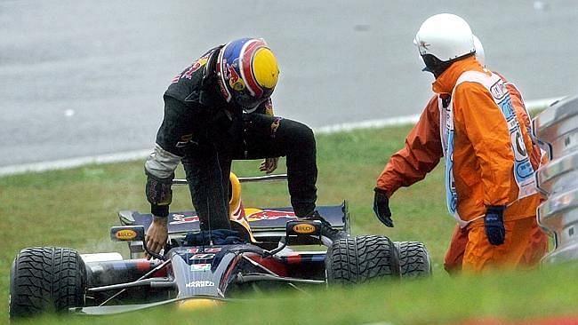 Mark Webber had a terrible 2007 Japenese Grand Prix