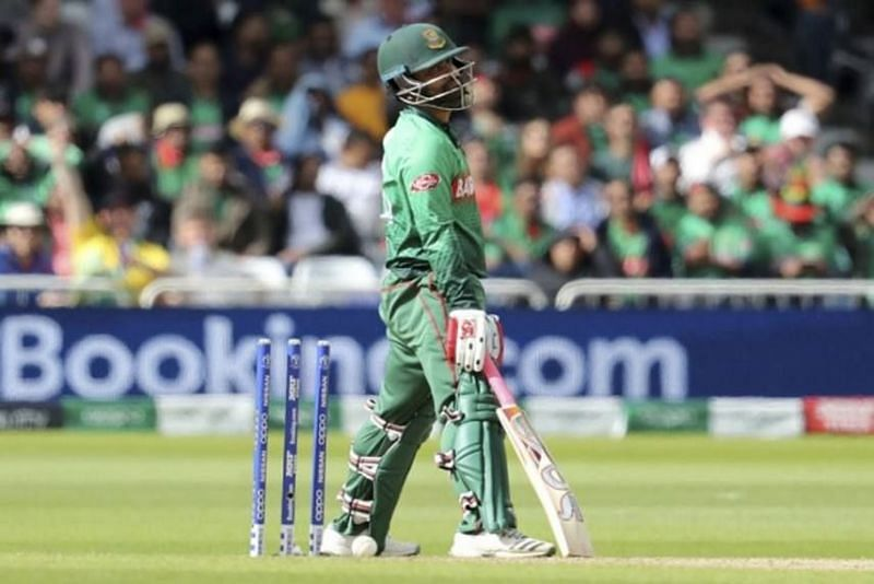 Tamim Iqbal could not quite capitalize on his start and got run out at the wrong time for Bangladesh.