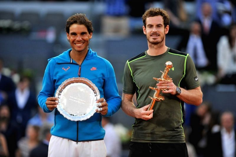 Nadal suffered his 3rd Madrid final defeat in 2015 to Andy Murray