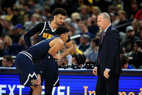 The Denver Nuggets suffered a surprise defeat to the Wizards