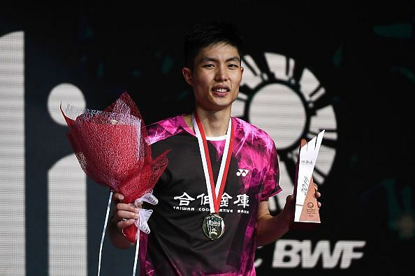 Chou Tien Chen gave Momota a fright in the Fuzhou China Open final