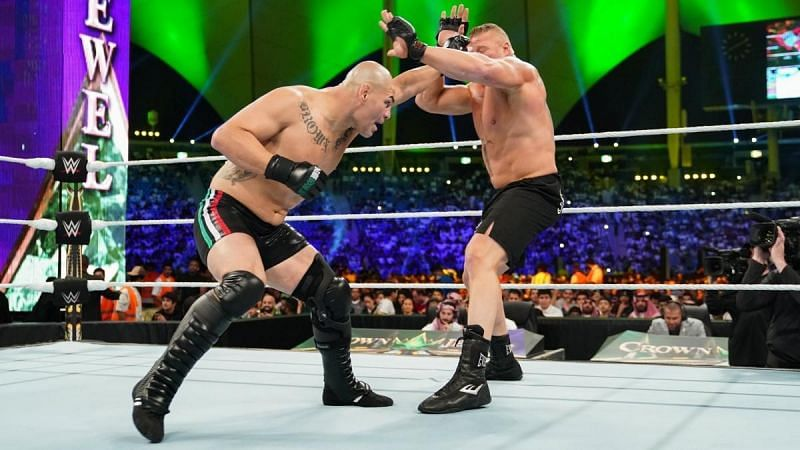 Will Lesnar and Velasquez meet in Saudi Arabia for the WWE Championship again?