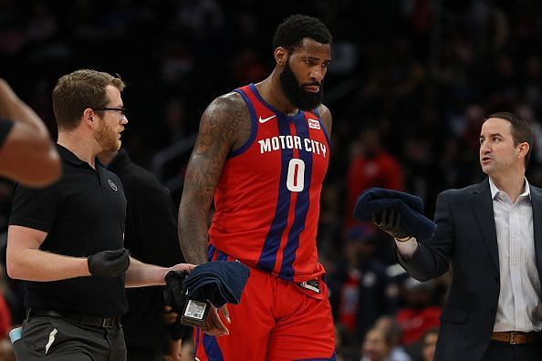 Andre Drummond is among the players that the Hawks are considering