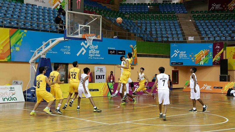 The second day of basketball action will be underway at the Khelo India Youth Games 2020