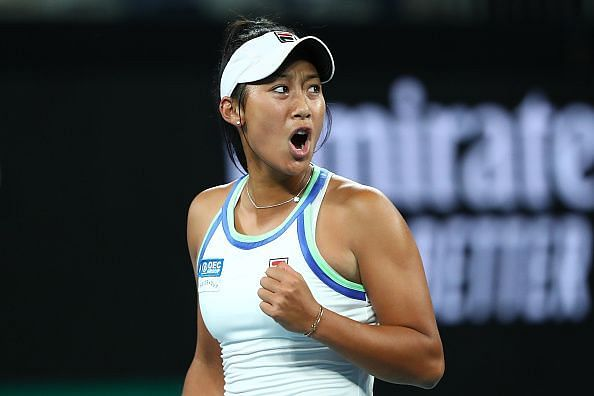 Priscilla Hon won her first main draw match at the Australian Open earlier this week.