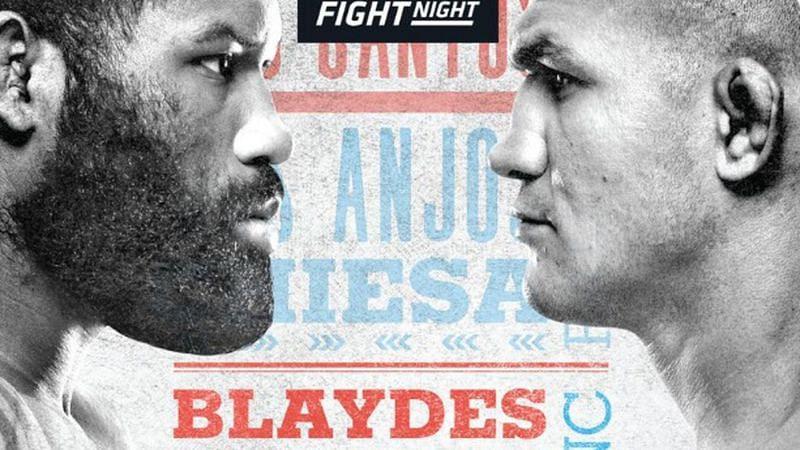 Curtis Blaydes faces Junior Dos Santos in a big Heavyweight clash this weekend