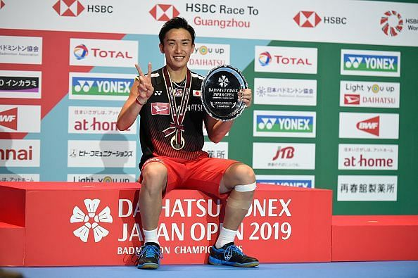 Kento Momota reigned supreme in 2019
