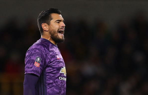 Romero proved to be a colossal figure for United in goal