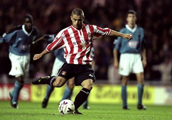 Kevin Phillips in action for Sunderland