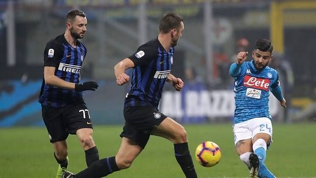 Napoli vs Inter Milan could be a feisty affair