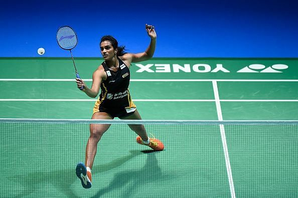 When playing well, Sindhu takes full advantage of her long reach