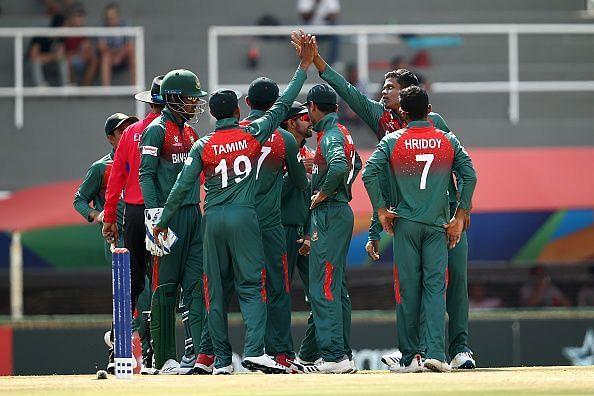 बांग्लादेश ने सेमीफाइनल में प्रवेश किया