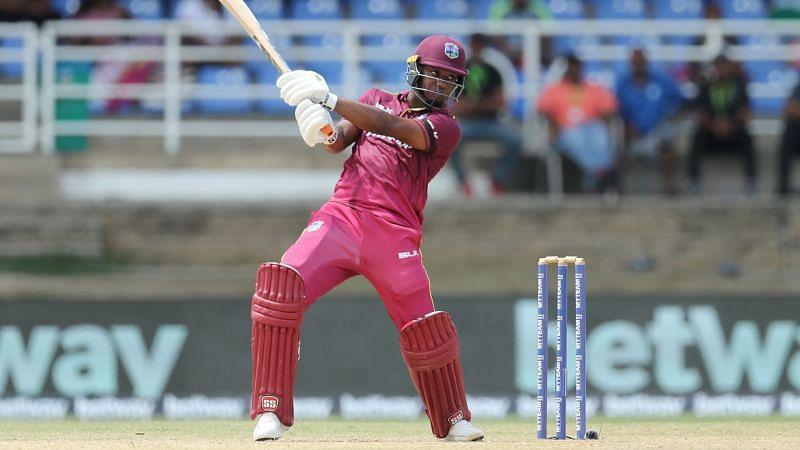 West Indies batsman Evin Lewis