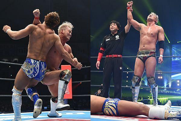 Okada vs. Ibushi at Wrestle Kingdom 14