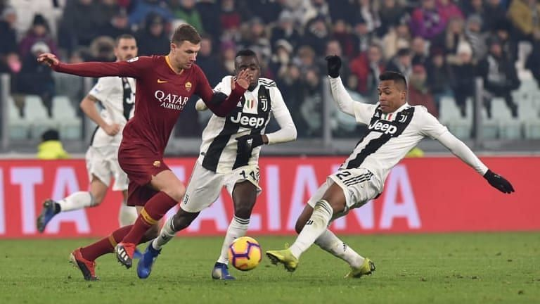 Serie A 2019 20 As Roma Vs Juventus Combined Xi