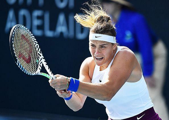 Aryna Sabalenka has had to battle through the opening rounds.