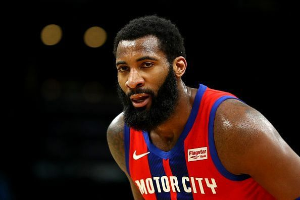 Andre Drummond has been linked with a trade away from the Detroit Pistons