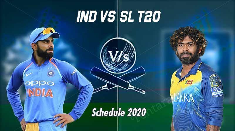 India vs Sri Lanka T20 International Series 2020
