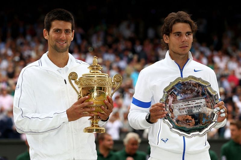 Nadal suffered his 3rd Wimbledon final defeat in 2011 against Novak Djokovic