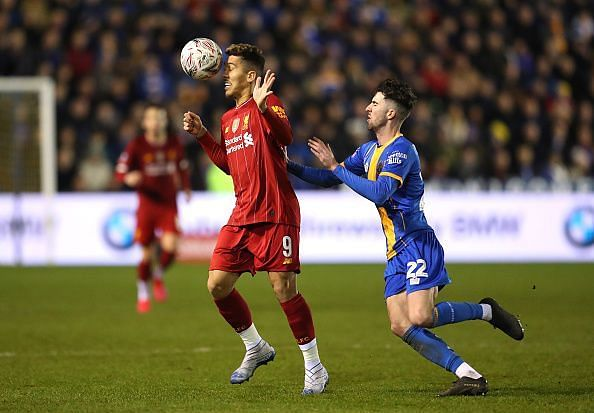 Liverpool were stunned by Shrewsbury Town in the FA Cup