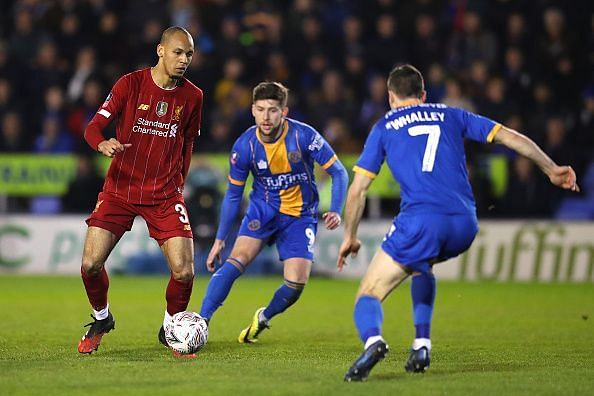 Fabinho looked rusty on his return to the side