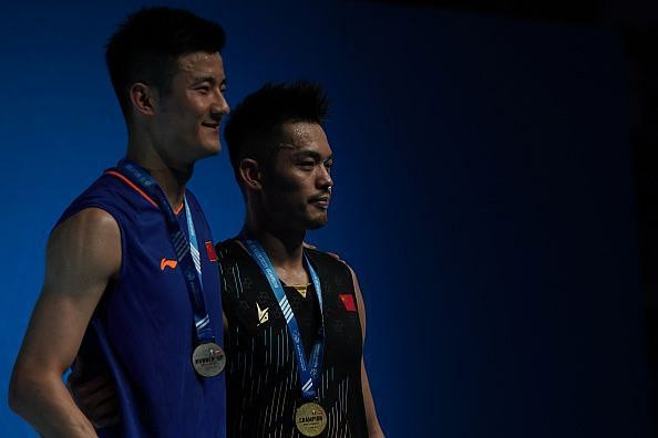 Both Lin Dan and Chen Long struggled this year