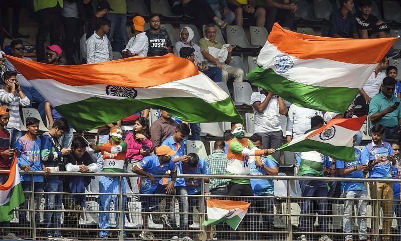 India has always had vociferous crowds in its cricket stadiums