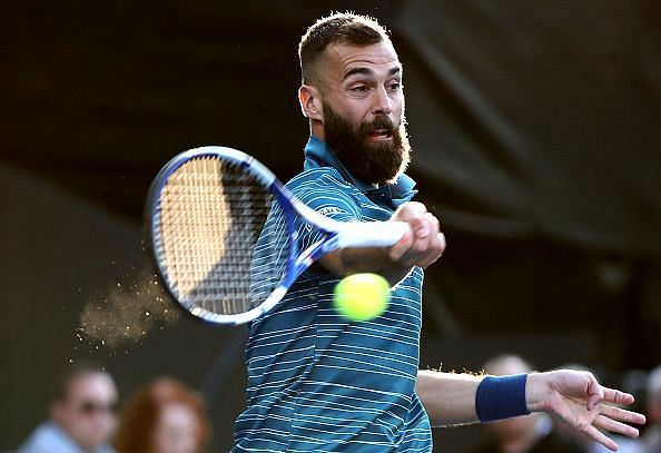 Paire will have to be aggressive from the baseline against a big-serving Hurkacz
